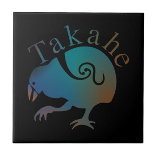 Takahe Flightless native New Zealand bird Ceramic Tile