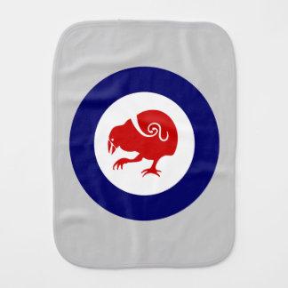 Takahe Roundel Burp Cloth