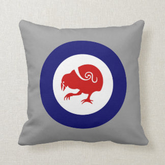 Takahe Roundel Throw Pillow