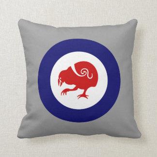 Takahe Roundel Throw Pillow