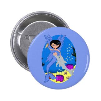 Takara the Merfaery and Dolphin Button