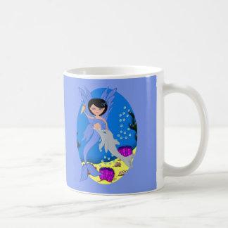 Takara the Merfaery and Dolphin Mug