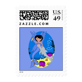 Takara the Merfaery and Dolphin Postage
