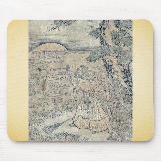Takasago por Utagawa, Toyoharu Ukiyoe Alfombrillas De Raton