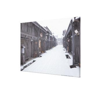 Takayama, Gifu Prefecture, Japan Canvas Print