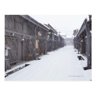 Takayama, Gifu Prefecture, Japan Postcard