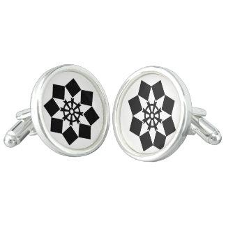Takayanagi pinwheel cufflinks