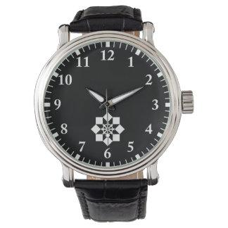 Takayanagi pinwheel wrist watch