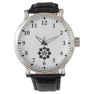 Takayanagi pinwheel wristwatch