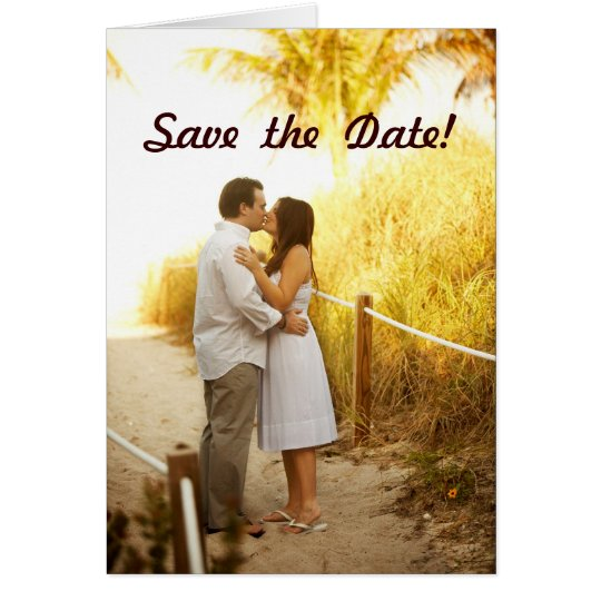 Take 2 - Save  the  Date! Card