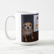 Take a bite! classic white coffee mug