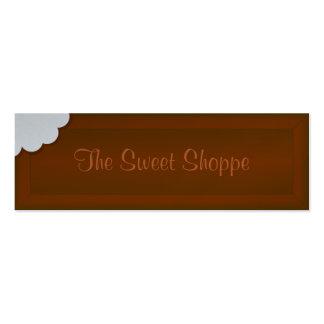 Take a Bite of Chocolate Mini Business Card