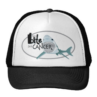Take A Bite Out of Cancer Trucker Hat
