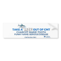take a bite out of CMT Bumper Sticker