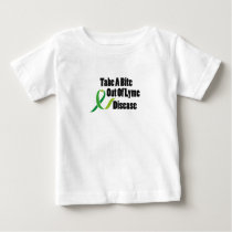 Take A Bite Out Of Lyme Disease Awareness Baby T-Shirt