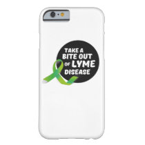 Take A Bite Out Of Lyme Disease Awareness Barely There iPhone 6 Case