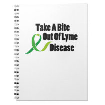 Take A Bite Out Of Lyme Disease Awareness Notebook