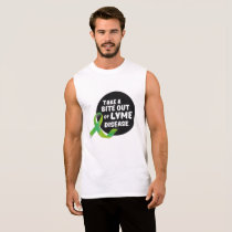 Take A Bite Out Of Lyme Disease Awareness Sleeveless Shirt