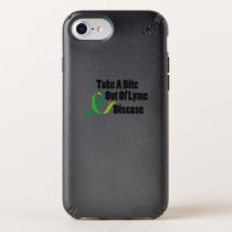 Take A Bite Out Of Lyme Disease Awareness Speck iPhone Case
