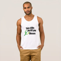 Take A Bite Out Of Lyme Disease Awareness Tank Top
