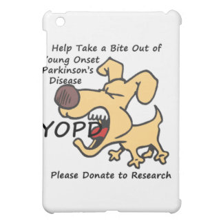 Take a Bite Out of Young Onset Parkinson's iPad Mini Cover