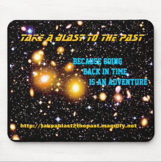 Take A Blast To The Past Mouse Pad