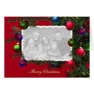 Take a Bough (photo frame) Greeting Card