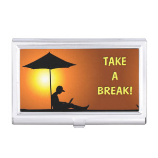 Take a Break! Business Card Cases