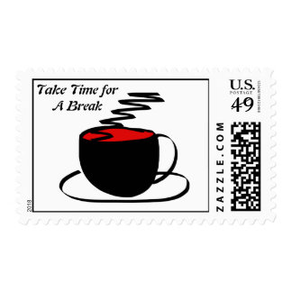 Take a Break Postage Stamps