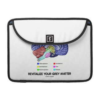 Take A Break Revitalize Your Grey Matter (Brain) Sleeves For MacBooks