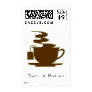 Take a Break - Tea symbol - Postage
