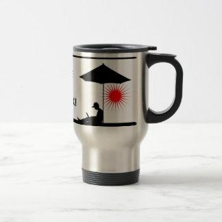 Take a break! travel mug