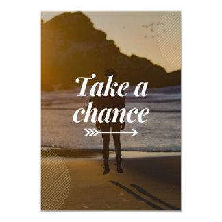 Take A Chance Invite