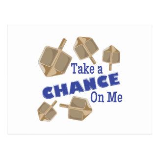 Take A Chance Postcard