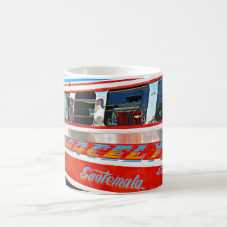 Take a Chicken bus guatamalan bus coffee mug