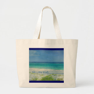 Take a Deep Breath Ocean Bag