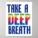 Take a Deep Breath Poster
