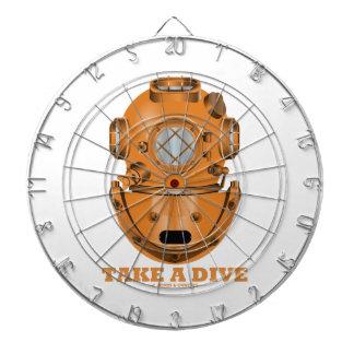 Take A Dive (Deep Diving Helmet Oceanographer) Dartboards