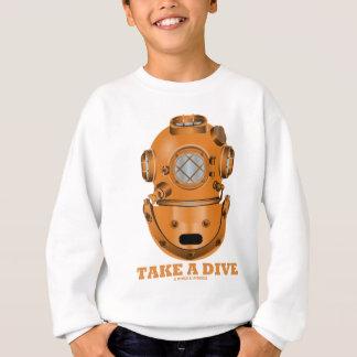 Take A Dive (Deep Diving Helmet Oceanographer) Sweatshirt