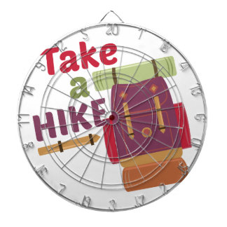 Take A Hike Dartboard With Darts