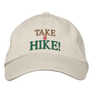 Take a Hike! Embroidered Baseball Hat