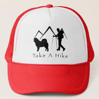 Take A Hike Hat-Malamute Mountains Trucker Hat