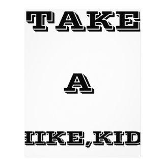 Take A Hike, Kid ! Letterhead
