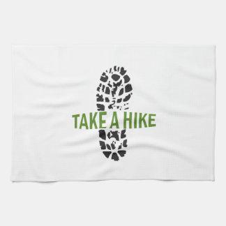 Take A Hike Hand Towels