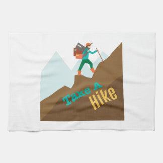 Take A Hike Kitchen Towel