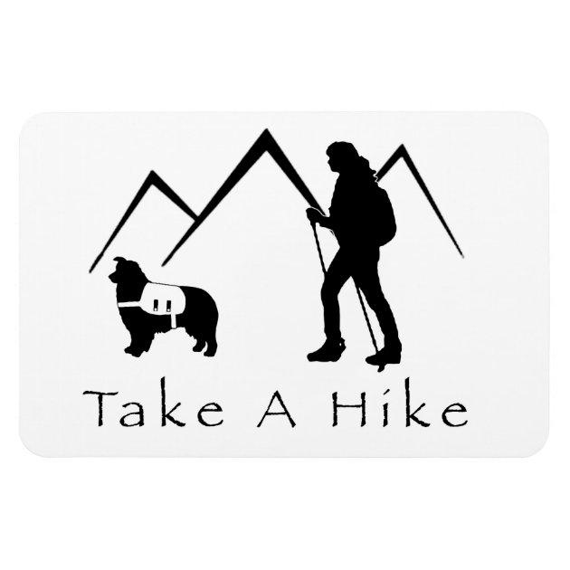 Take A Hike Magnet Aussiepack Magnet