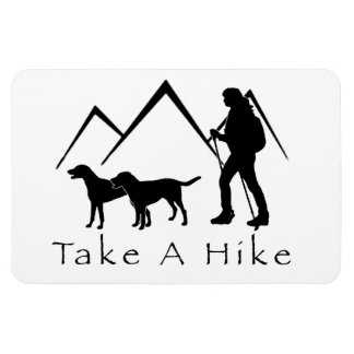 Take a Hike Magnet- Mutts/Mixes