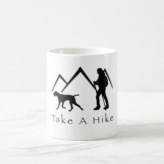 Take a Hike Mug-Weimaraner Mountains Coffee Mug