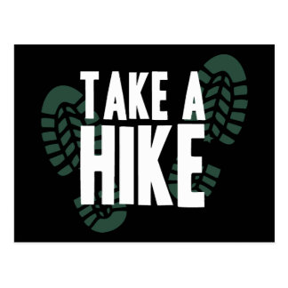 Take A Hike Postcard