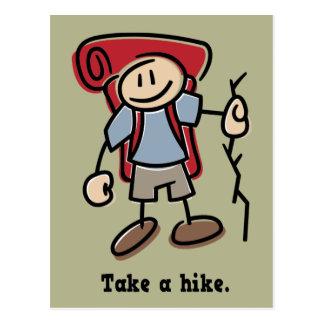 Take a Hike Postcard